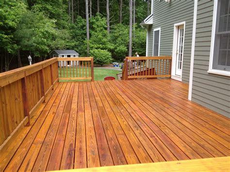 premium deck restoration staining refinishing