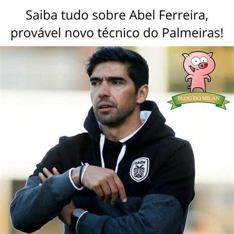A caminho do brasil, abel ferreira concedeu sua primeira entrevista desde que foi anunciado como treinador do palmeiras. Conheça o técnico Abel Ferreira, que pode assumir o Palmeiras em breve