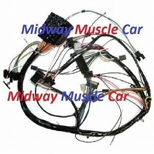 Dash Wiring Harness 70 71 Chevy Chevelle Malibu El Camino