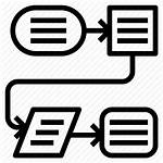 Process Icon Flow Icons Plan Business Chart