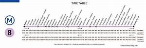 Horaire Ouverture Metro Paris : fiche horaire ete ligne 5 stas horaire ligne 8 ~ Dailycaller-alerts.com Idées de Décoration