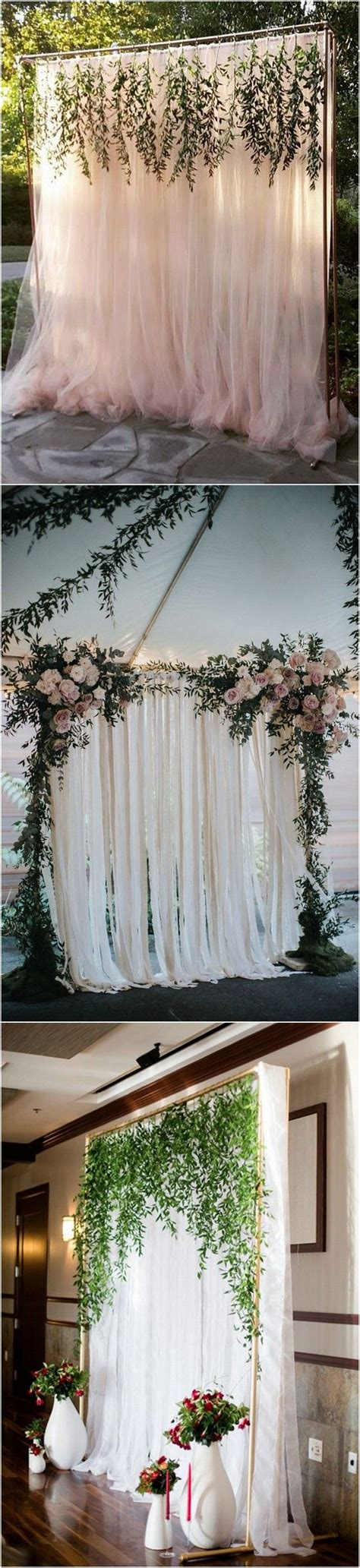 Backdrop Outdoor by Trending 15 Wedding Backdrop Ideas For Your