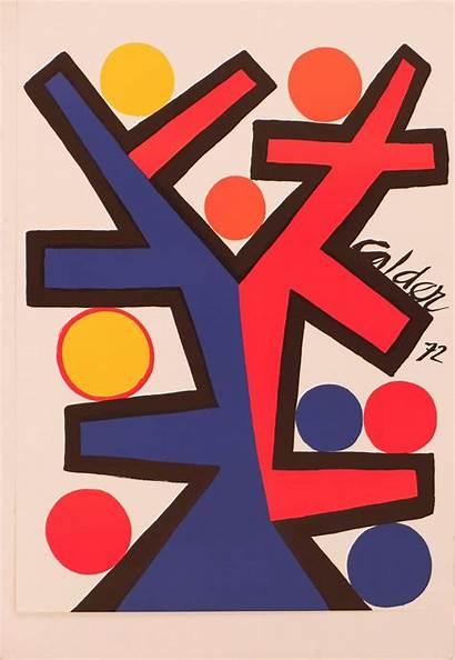Calder Alexander Abstract Prints Artwork