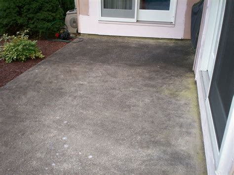 How To Clean Cement Porch by Deck And Patio Cleaning Hagerstown Complete Power Wash