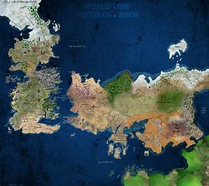 [No Spoilers]One of the most detailed maps of Westeros and ...