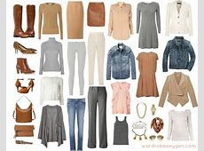 Organize a 6month Capsule Wardrobe for Fall and Winter