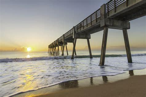 florida beaches winter vero beach pier indian county river thomas