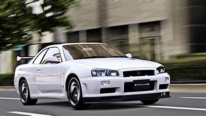 R34 Skyline Nissan 1080p Gt Wallpapers Gtr