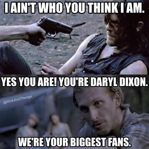 Walking Dead Daryl Meme - 598 best daryl dixon funny memes images on pinterest funny memes memes humor and ouat funny memes