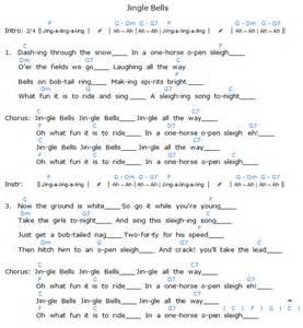 jingle bells chords songs bellandcomusic