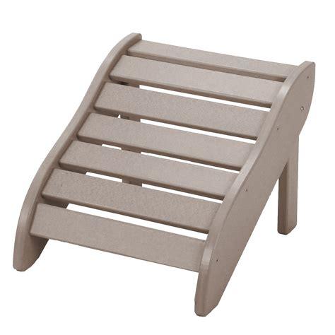 lifetime essentials adirondack chair footrest on sale
