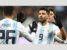 Argentina's 2018 World Cup squad Who joins Aguero and