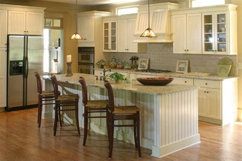 award winning stratton house plan features spacious  shaped kitchen   center island
