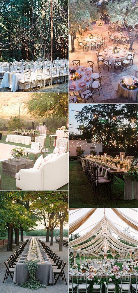Top 18 Whimsical Outdoor Wedding Reception Ideas ...