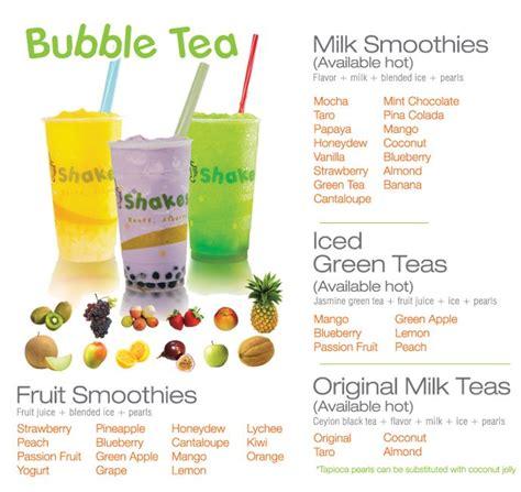 boba tea flavors pinterest