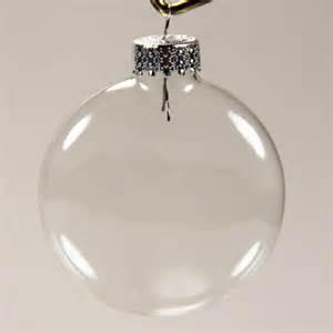 29 2538 flat 66 mm clear glass balls