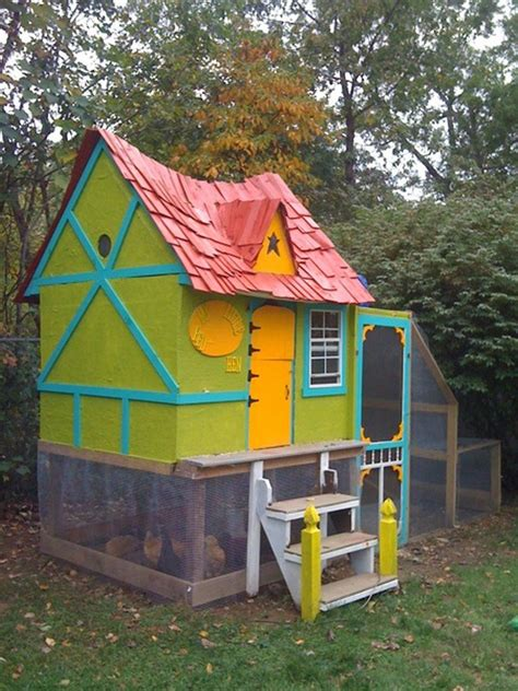 diy fairytale cottage chicken coop home design garden
