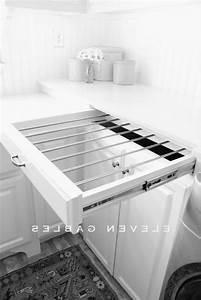 DIY Slide Out Drying Rack Laundry Room Http11gables
