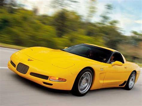 corvette yellow   car