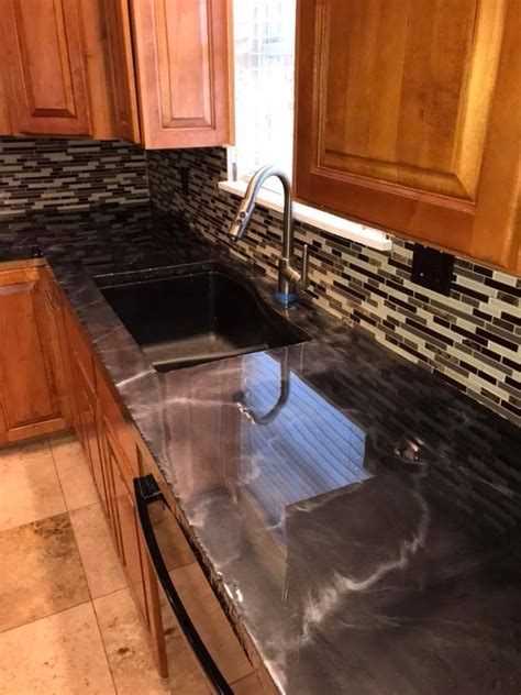 metallic epoxy countertop kit epoxy countertop kitchen