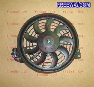 A  C Condenser Cooling Fan And Motor Assembly For Chery Qq