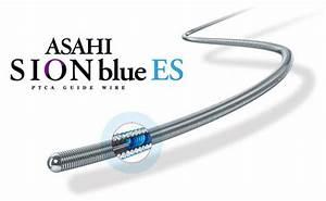 Sion Blue Es Guide Wire   U0917 U093e U0907 U0921  U0935 U093e U092f U0930