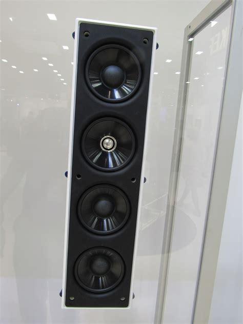 kef ciql thx  wall speaker preview audioholics