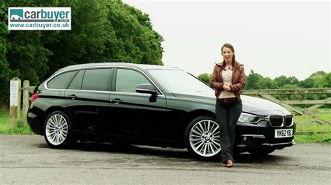 bmw  series touring estate review carbuyer youtube