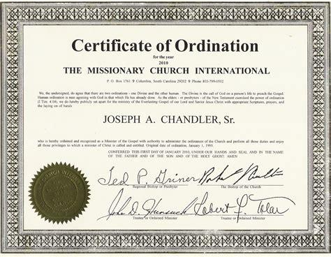 ordination certificate template ordination certificate templates budget template free
