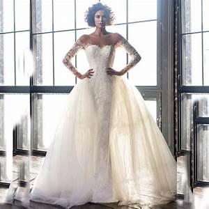 popular wedding dresses removable skirt buy cheap wedding With wedding dresses with removable skirts
