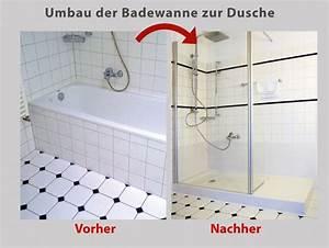 Wanne Zur Dusche : dusche statt badewanne umbau der badewanne in 8 std ~ Watch28wear.com Haus und Dekorationen