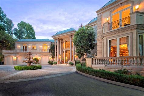million newly listed french mansion  beverly hills