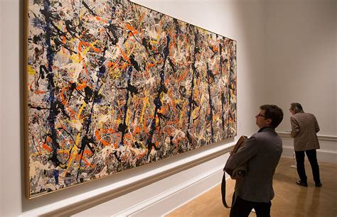 jackson pollock free form original value a liberal senator wants to sell australia s most valuable