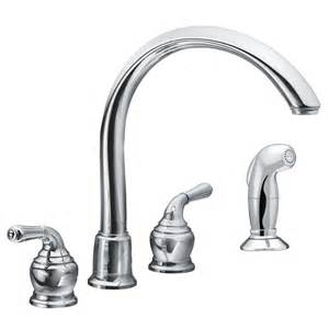 moen two handle kitchen faucet faucet com 7786 in chrome by moen