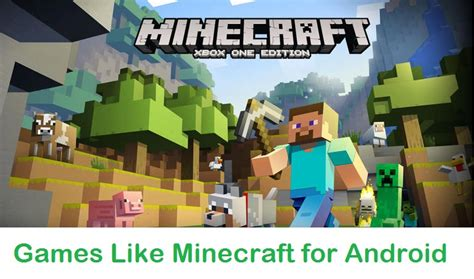 minecraft for free on android like minecraft for android