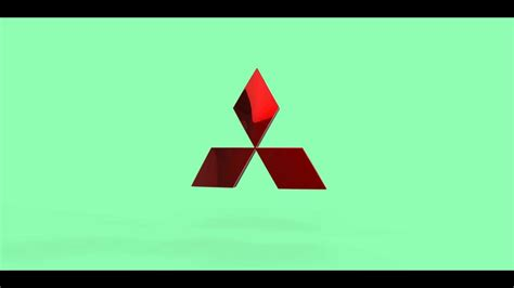 3d Mitsubishi Logo Animation
