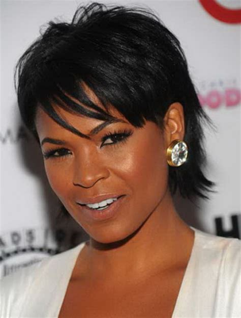short hairstyles  black women  thin hair