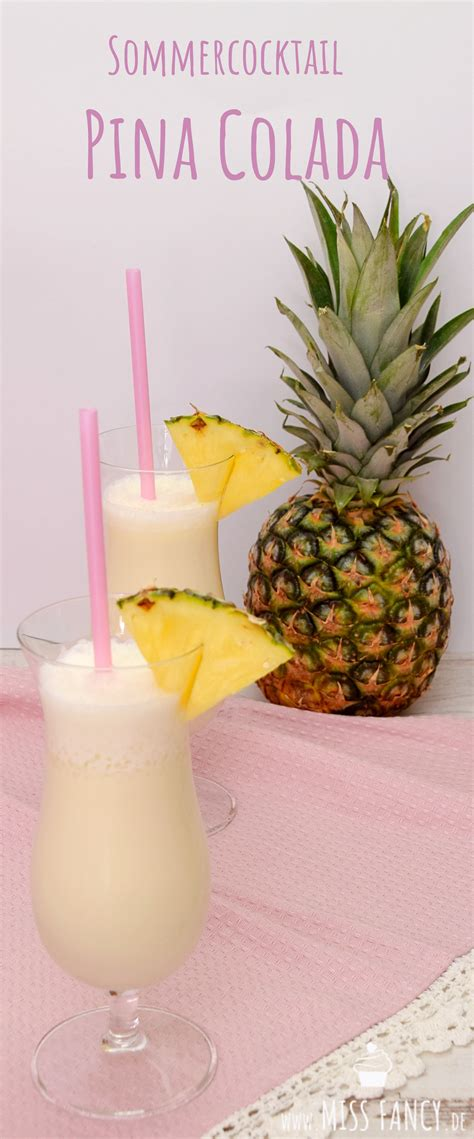 sommercocktail pina colada pina colada sommer cocktails