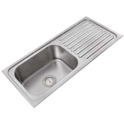 kitchen sinks with drain boards single sink with drainboard high quality kitchen sinks 8599