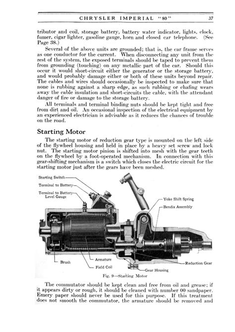 how to fix cars 1926 chrysler imperial spare parts catalogs directory index chrysler and imperial 1926 chrysler 1926 chrysler imperial 80 operators manual