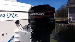 Mercury Black Max 200 Outboard Conversion On A 1998 Bayliner 2452