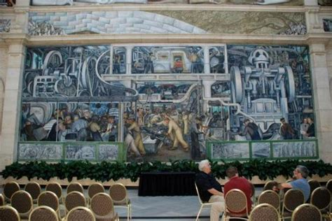 diego rivera s mural at the detroit institute of picture of detroit institute of arts
