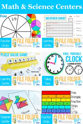free math and science learning centers ultimate homeschool board pinterest free math and