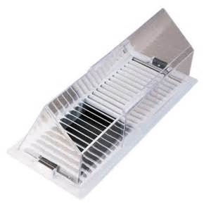 deflect o air conditioning deflector for floor registers 40 ace hardware