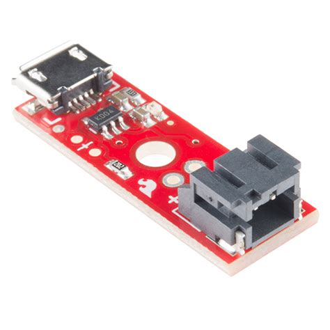 power charger usb sparkfun lipo charger basic micro usb prt 10217