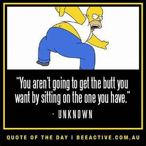 Motivational fitness quote funny - The Simpsons | Quote of ...