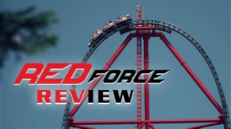 red force review ferrari land tallestfastest coaster