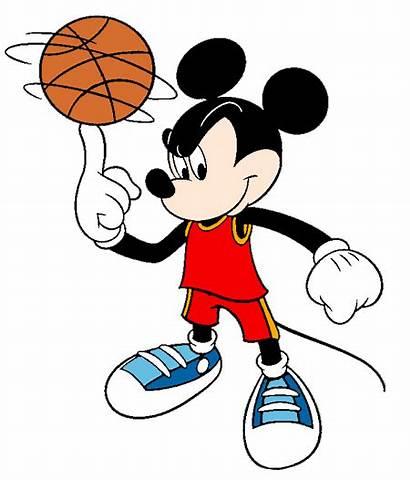 Mickey Mouse Basketball Clipart Ball Disney Clip