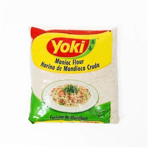 cuisine manioc yoki cassava flour farinha de mandioca buy uk