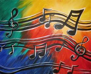 Musical Notes. | Painting Ideas | Pinterest | Note ...